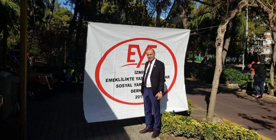 İzmir'de EYT'liler yılmadan mücadele edecek.